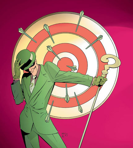 Dear Lord, Johnny Depp as The Riddler? It boggles the mind…